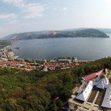 panoramă mănăstirea Sfânta Ana Orşova