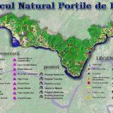 harta parcul natural portile de fier